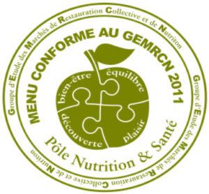 Menu conforme au GEMRCN 2011